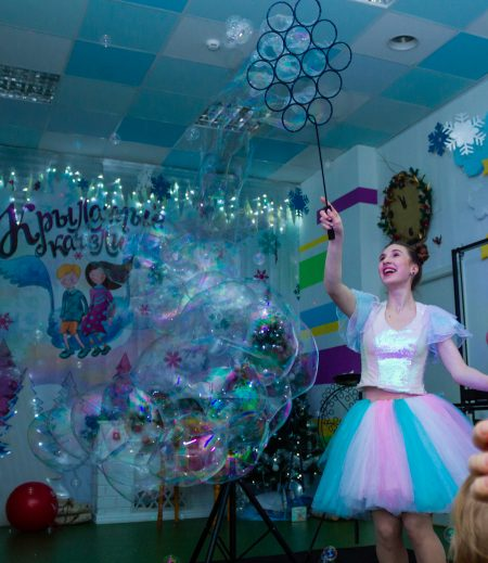 шоу мыльных пузырей екатеринбург