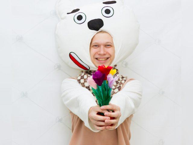 Медвежонок Мимимишка аниматор на детский праздник Екатеринбург